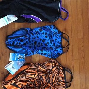Girls competition swim suits